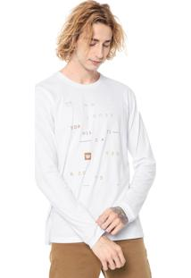 Camiseta Hang Loose Hazard Branca