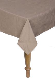 Toalha De Mesa Retangular Karsten Celebration Sienna 160X270Cm