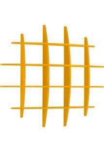 Prateleira Decorativa Grande Taylor 595 Amarelo - Maxima
