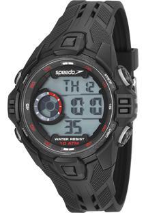Kit De Relógio Digital Speedo Masculino + Carregador - 80636G0Evnp1K 9611120 Preto