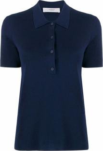 Pringle Of Scotland Camisa Polo Mangas Curtas - Azul