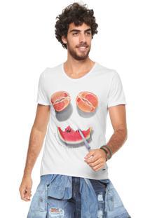 Camiseta Sergio K Stoned Fruits Branca