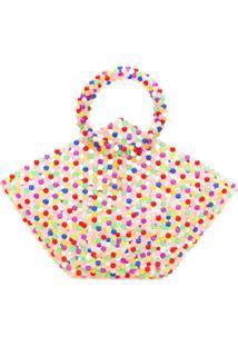 Susan Alexandra Top-Handle Colour Block Tote - Rosa