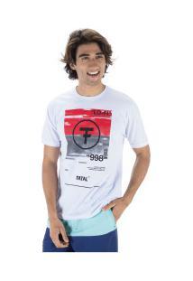 Camiseta Fatal Estampada 22109 - Masculina - Branco