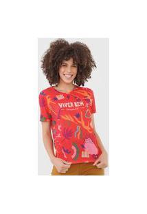 Camiseta Cantão Festival Vermelha