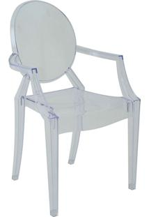 Cadeira Com Braço Pc Sofia -Rivatti - Incolor