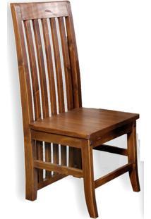 Cadeira Rústica Kononiale Em Madeira De Demolição