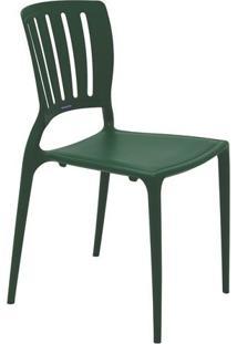 Cadeira Sofia- Verde Escuro- 82,5X44,5X53Cm- Tratramontina