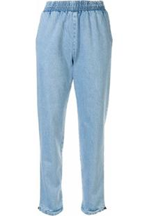 Kseniaschnaider Calça Jeans - Azul