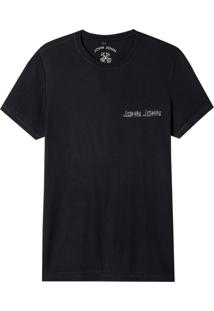 Camiseta John John Rx John Tape Malha Algodão Preto Masculina (Preto, M)