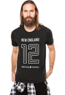 Camiseta Rgx New England American Football Preto