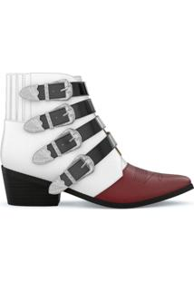 Toga Pulla Ankle Boot De Couro - Unavailable