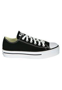 Tênis Converse Chuck Taylor All Star Platform Ox Preto Ct04950001.35