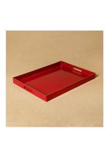 Bandeja Titan Cor: Vermelho - Tamanho: Único