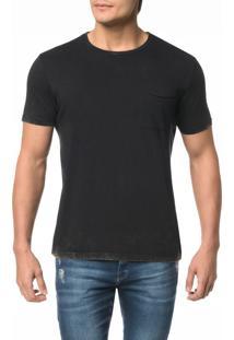Camiseta Ckj Mc Est. Calvin Jeans Costas - M