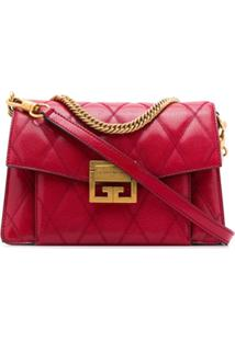 Givenchy Bolsa Tiracolo Gv3 Pequena - Vermelho