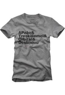 Camiseta Reserva Desbielou Masculina - Masculino-Cinza