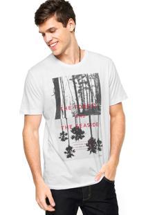 Camiseta Sommer Forest Branca