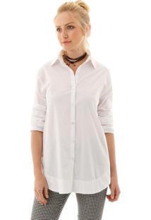 Camisa Aha Tricoline Off- White
