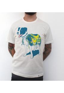 Vai Brasil - Camiseta Clássica Masculina