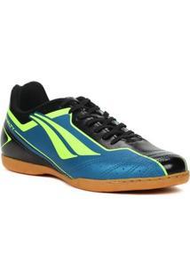 Tênis Futsal Masculino Penalty Matis Vi Indoor Azul/Preto