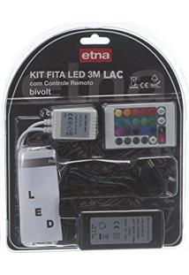 Kit Fita Led Com Fonte Alimentacao Lac Bivolt 3M Etna
