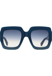 be33b9c282c75 Óculos De Sol De Grife Quadrado feminino   Shoelover