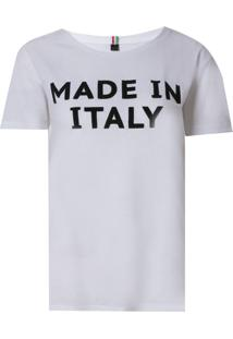 Camiseta John John Made In Italy Malha Algodão Off White Feminina (Off White, Pp)
