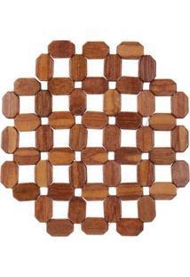 Descanso De Panela Le Astro De Bambu 17X17Cm