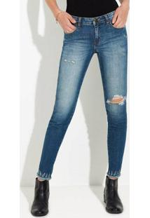 6db4df4fd Calça Estampada Hering feminina. Calça Jeans Feminina Super Skinny ...
