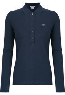 15ce8942d70 ... Lacoste Camisa Polo - Azul