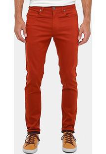 Calça Skinny Cavalera Sarja Color Masculina - Masculino