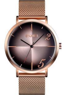 Relógio Skmei Analógico 9200 Rosê