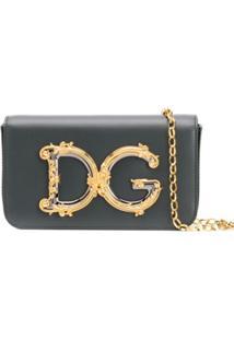 Dolce & Gabbana Bolsa Transversal Dg Girls - Verde
