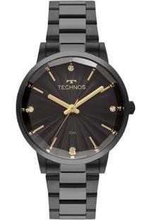 Relógio Technos Fashion Feminino - Feminino-Preto