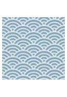 Papel De Parede Adesivo Abstrato Azul 0184 Rolo 0,58X3M