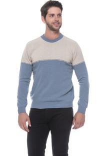 Blusa Passion Tricot Ff Bicolor Cinzel
