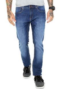 Calça Jeans Mcd Skinny Estonada Azul