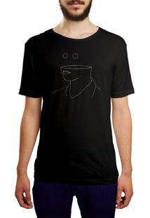 Camiseta Hunter Sem Noção Preta