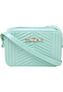 Bolsa Petite Jolie Mini Bag Pop Express Feminina - Feminino-Verde