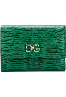 Dolce & Gabbana Carteira Continental Dg - Green