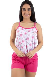 Baby Doll Linha Noite Pink Ab - Kanui