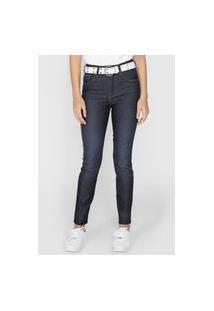 Calça Jeans Forum Skinny Pespontos Azul