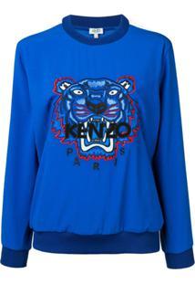 Kenzo Suéter Tiger - Azul