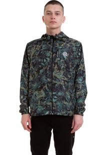 Jaqueta Windbreaker Dc Shoes Dagup Camo Camuflado