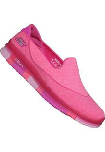 Sapatilha Skechers Go Flex Walk - 14010-Hpk - Feminino-Pink