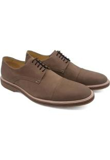 Sapato Social Couro Adolfo Turrion Liso Masculino - Masculino-Vinho