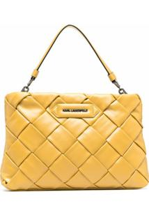 Karl Lagerfeld Clutch K/Kushion - Amarelo