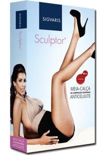 Meia Calça Sculptor Anti Celulite At 151A 15-20 Mmhg Com Ponteira Fechada Sigvaris
