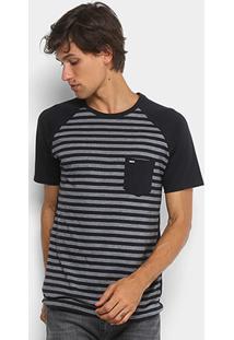 Camiseta Hurley Especial Stripe Masculina - Masculino
